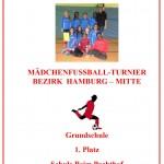 Urkunde Fussball 2016